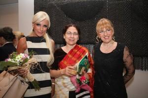 Mila Litvinjenko, Narinder Čanuhar, ambasadorka Indije i Sanja Popović Pantić