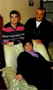 Porodica Horvacki Palivukov: Milica, suprug Ivan i sin Josip